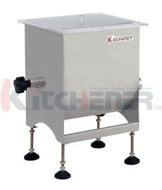Restaurant 20 Pound Homemade Meat Mixer , Stand Mixer With Meat Grinder Sausage Maker